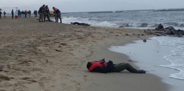 Çok acı görüntüler...Çocuk cesetleri vurdu