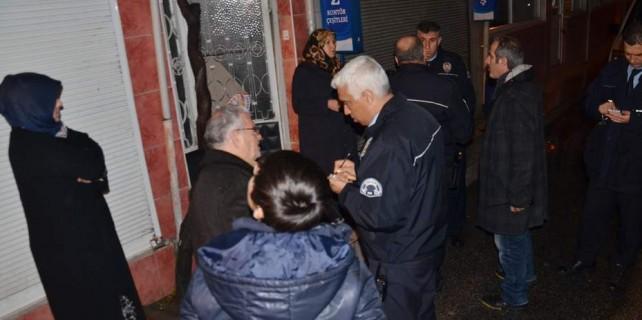 Bursa'da molotoflu saldırı...