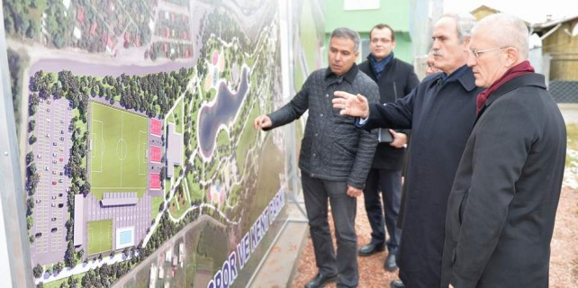 Bursa'ya devasa Spor ve Kent Parkı