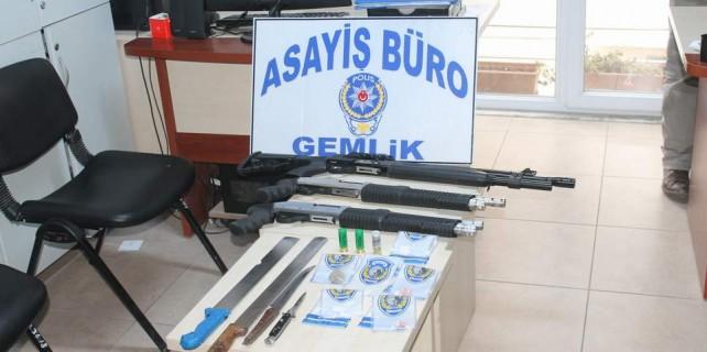 Bursa'da her gün operasyon var...