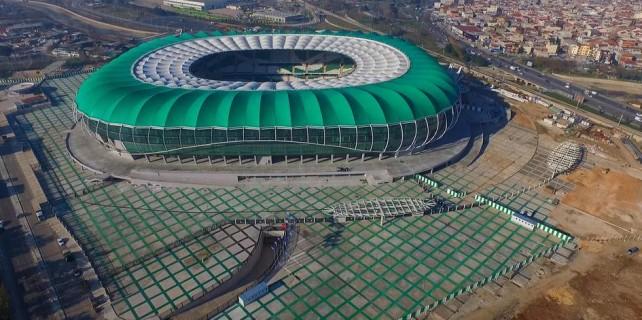 Timsah Arena'ya giriş güzergahları...