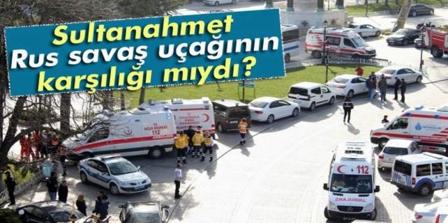 Sultan Ahmet saldırısında korkunç şüphe