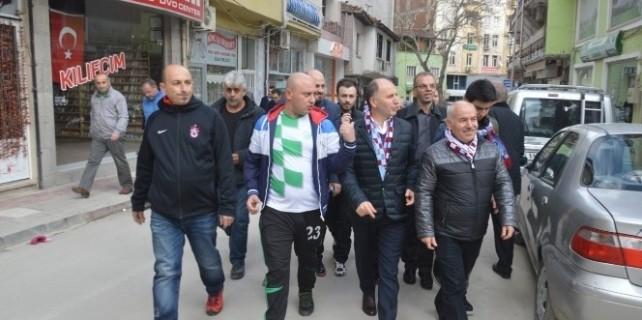 Trabzonspor Başkanı Usta Bursaspor Parkı Ve Derneğini Ziyaret Etti