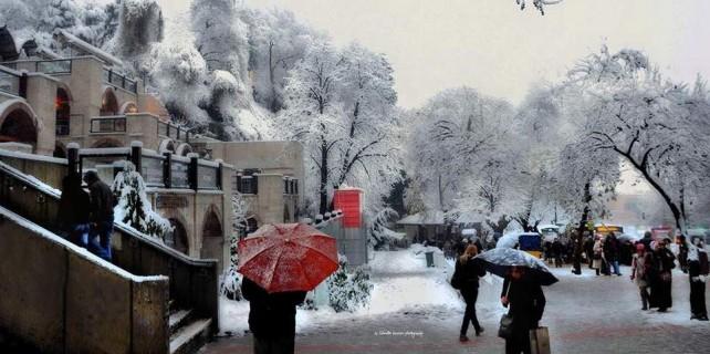 Bursa'ya kar geliyor...Saatler kaldı...