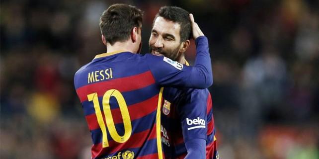 Arda, Messi'nin yerine girdi asist yaptı