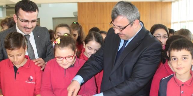 Osmangazi Koleji'nde resim sergisi heyecanı