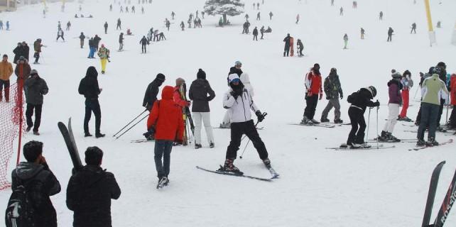 Kar 1 metre oldu...Zirve doldu taştı