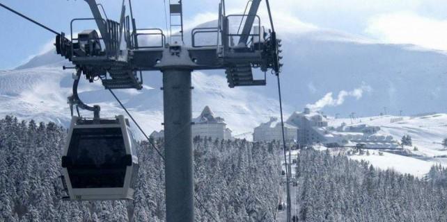İşte Uludağ'daki kar kalınlığı...
