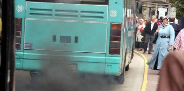 Bursa'da halk otobüsçülerine şok eden haber