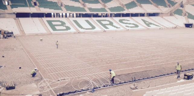 Timsah Arena Stadı'da REHAU ile ısınıyor...