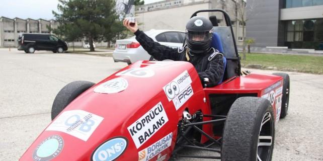 Bursa'dan dünyaya...Yerli formula aracı ürettiler