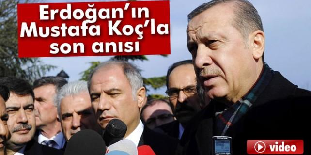 Erdoğan Mustafa Koç'la son anısını anlattı