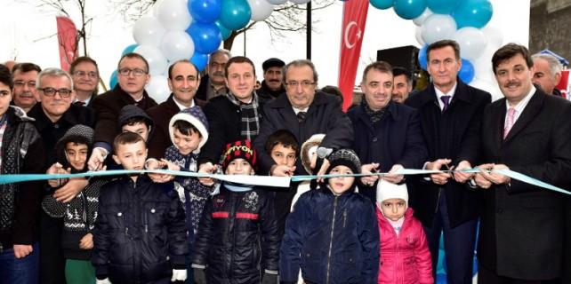 Yıldırım'a 'Leylek Pınarı' parkı