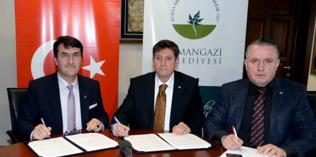 Osmangazi'den 'Sosyal Denge' sözleşmesi