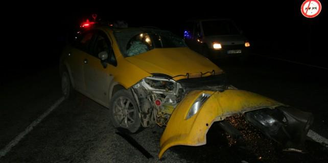 Bursa'da trafik kazası...