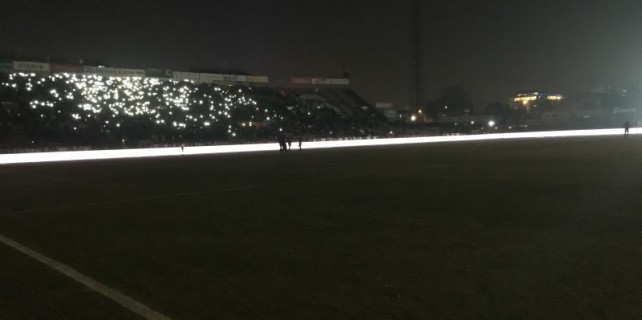 Eskişehir'de maç uzatmalarda durdu!