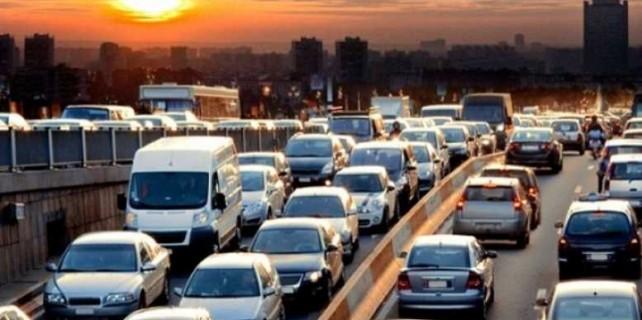 Bursa'da trafik ve yol durumu...