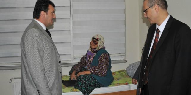Kanserli kadına Osmangazi sahip çıktı