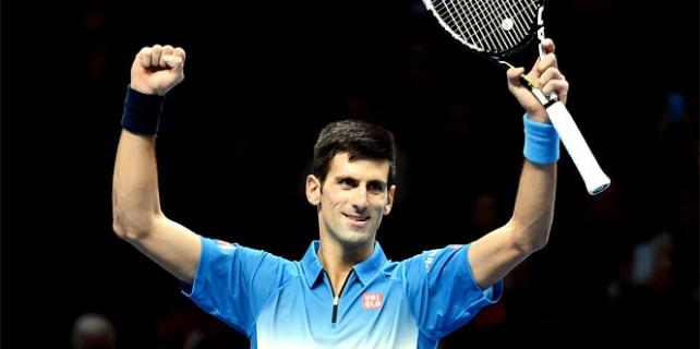 Zafer yine Djokovic'in