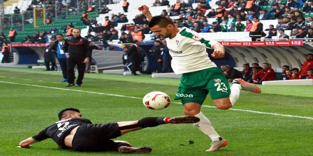 Derede boğulduk...Bursaspor: 1 - Amed Sportif: 2