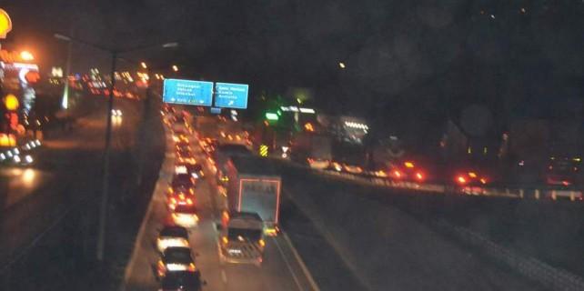 Bursa İstanbul yolunda trafik neden çileye dönüştü...