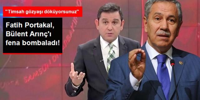 Fatih Portakal Arınç'ı fena bombaladı...