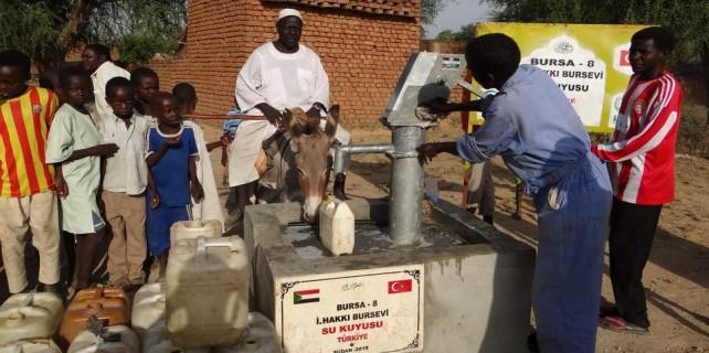 Bursa'dan Sudan'a can suyu...