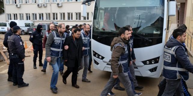 """Bursa'da """"paralel yapı"""" operasyonunda 5 tutuklama..."""