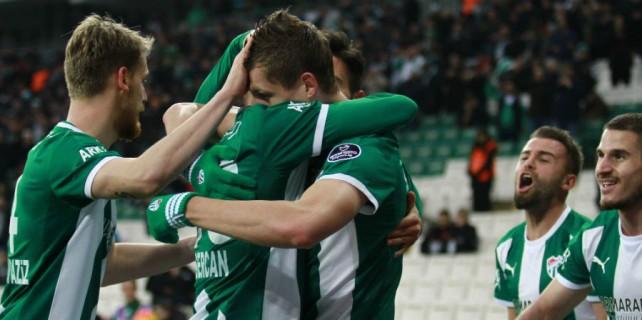 Bursaspor 3 puan aşkına...