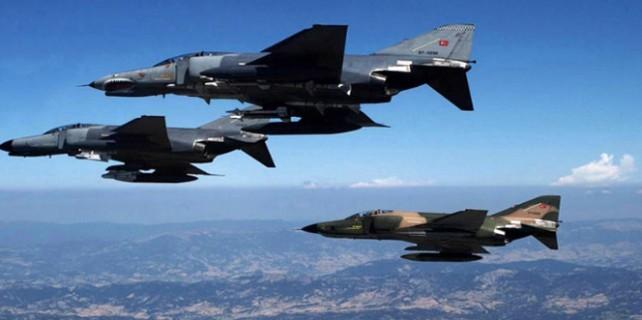 Suriye sınırında 12 F-16 uçağı!