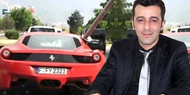 Ferrari ile boru taşıdı,şimdi de ticarete atıldı...