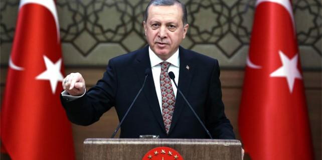 Erdoğan: 'Zincir sökülmeye başladı'