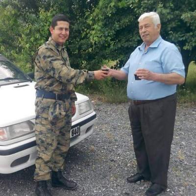 Sehit servis soforu asker Ali Oztas