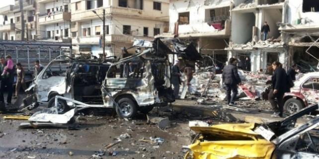 Humus'ta bombalı saldırı... 46 ölü!
