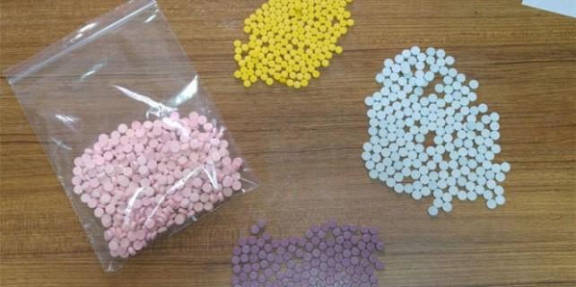 Hendek'te bin adet uyuşturucu hap ele geçirildi