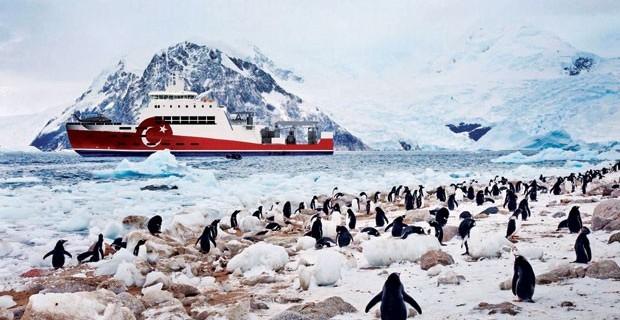 Türkiye Antarktika'da bilimsel üssünü kuruyor