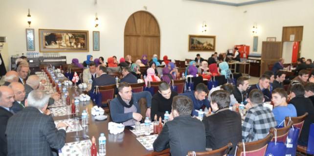 Gürcü öğrencilerden Büyükşehir'e ziyaret