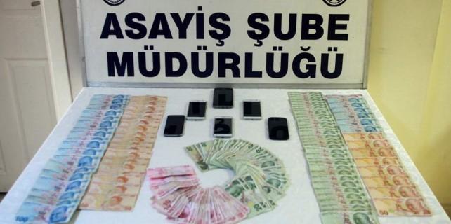 Bursa'da sanal ortamda bahis operasyonu...