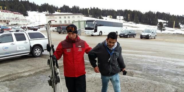 Uludağ'da mahsur kalan turistin imdadına JAK yetişti