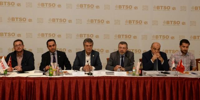 Btso, makine ve otomotiv sektörünü ele aldı