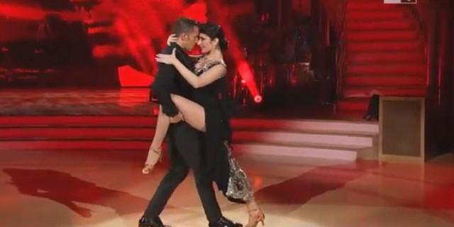 Del Piero'dan muhteşem tango performansı