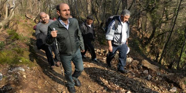 Başkan Edebali'den 'Doğaya Saygı Yürüyüşü'