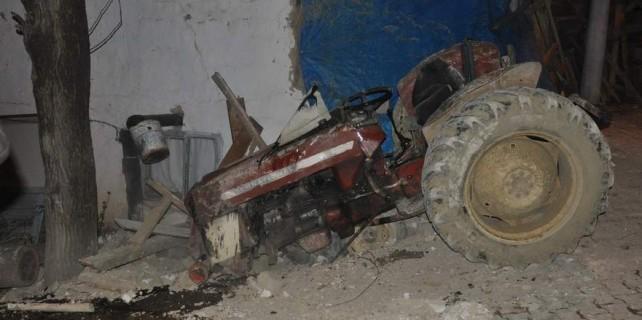 Bu traktör sonu oldu...