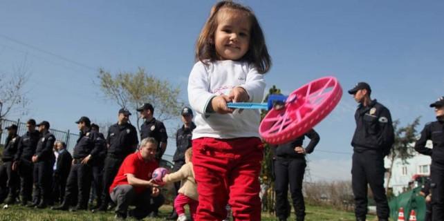 Çocuk Parkı'nda eylem...Koskoca mahalle ayaklandı