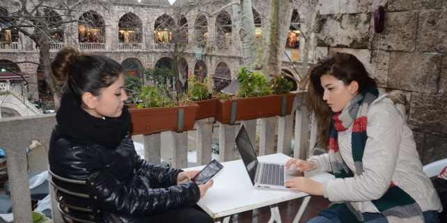 Bursa'da ücretsiz internete büyük ilgi
