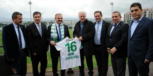 Bursaspor'a Vali morali...