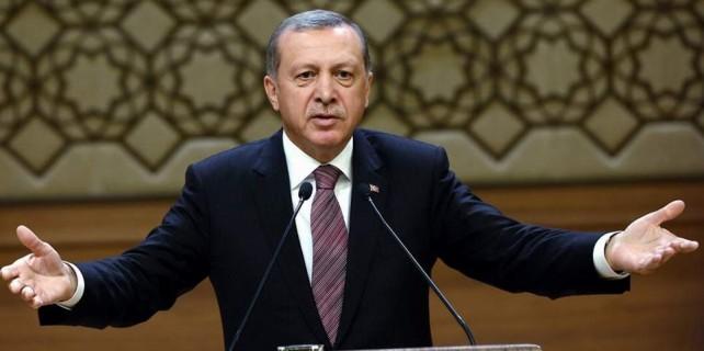 Erdoğan'dan AYM'ye: 'Durumdan vazife çıkardılar'