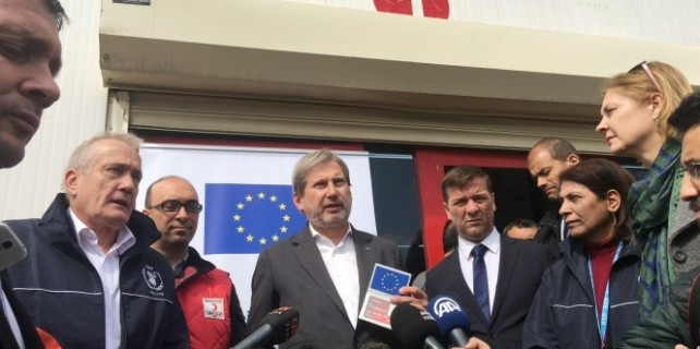 AB'den Suriyeliler için 40 milyon Euro!