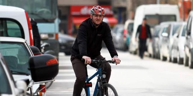 Bisiklet sürücüsü radara takıldı bakın ne cezası geldi?
