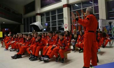 suriyeli astronot